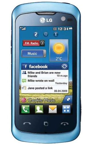 LG KM570 Cookie Arena 2 Blue