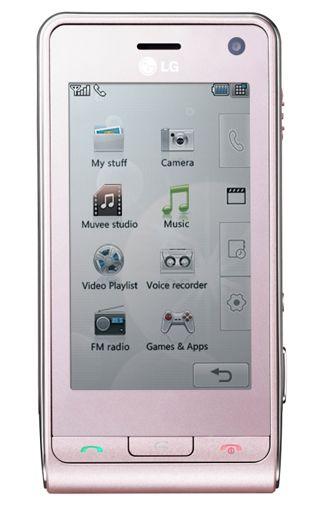 LG KU990i Pink Viewty