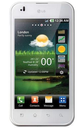 LG P920 Optimus 3D Speed White