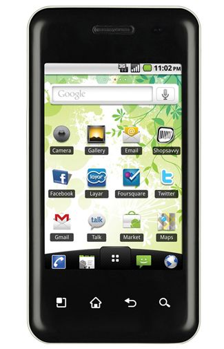 LG E720 Optimus Chic White
