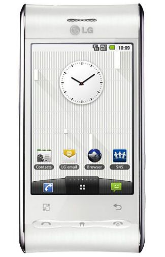 LG GT540 Optimus White