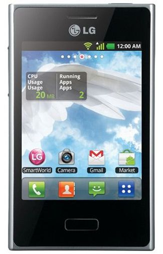 LG E405 Optimus L3 Dual Sim Black