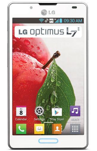 Productafbeelding van de LG P710 Optimus L7 II Full White
