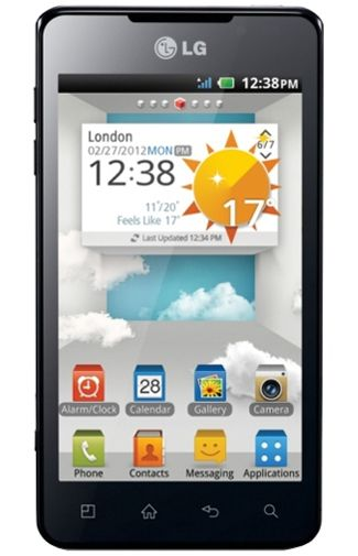 LG P720 Optimus 3D Max Black
