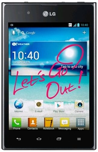 LG P895 Optimus Vu Black