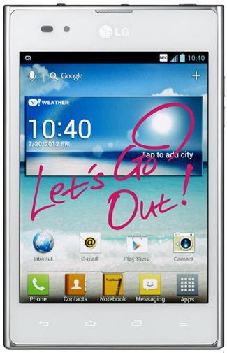 LG P895 Optimus Vu White