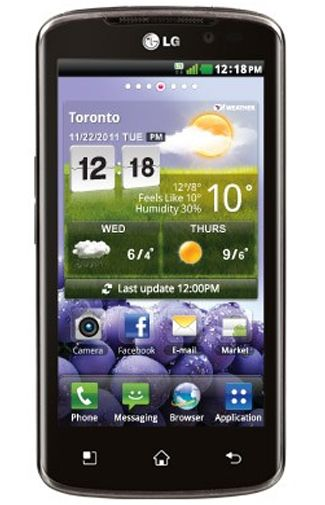 LG P936 Optimus TrueHD Black