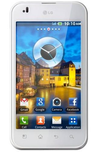 LG P970 Optimus White
