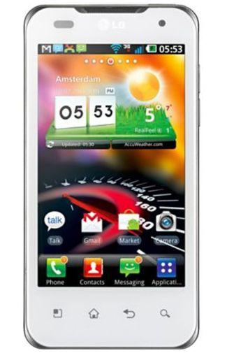 LG P990 Optimus 2xSpeed White