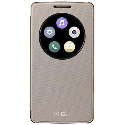 LG Quick Circle Case Gold LG G3 S