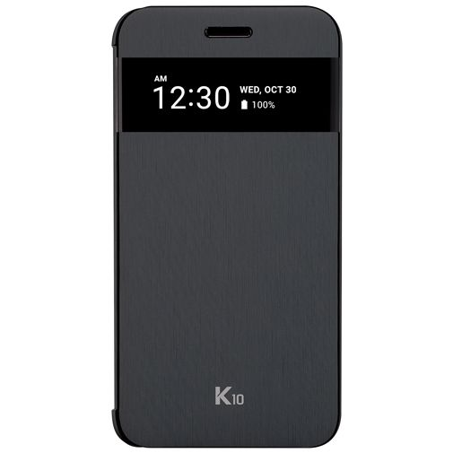 LG Quick Cover Black K10 (2017)