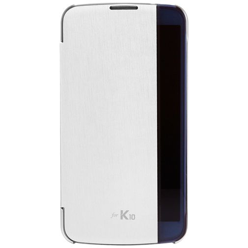 LG Quick Glance Case White LG K10