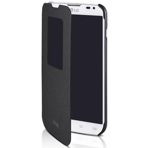 LG Quick Window Flip Cover LG L90 Black