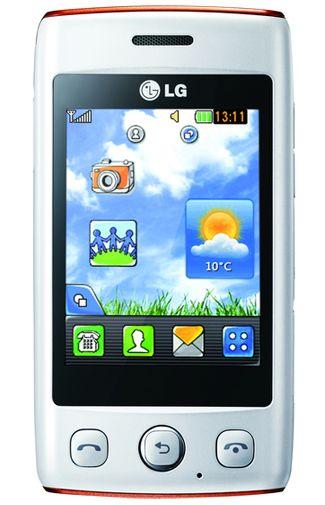 LG T300 Cookie Mini White Orange