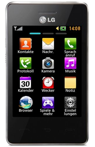 LG T385 Black