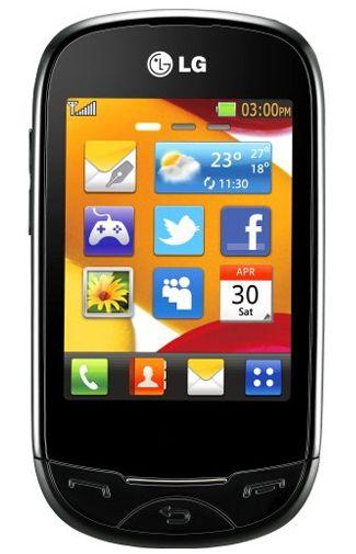 LG T500 Ego Black