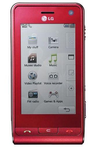 LG KU990i Red Viewty