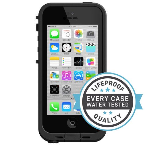 Lifeproof Fre Case Black Clear Apple iPhone 5C