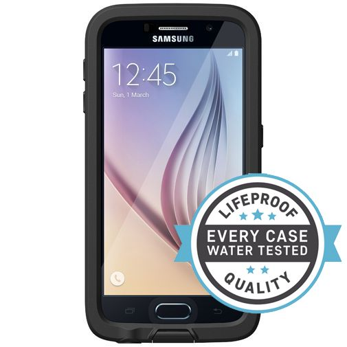 Lifeproof Fre Case Black Samsung Galaxy S6