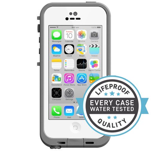 Lifeproof Fre Case White Clear Apple iPhone 5C