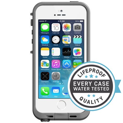 Lifeproof Fre Case White Grey Apple iPhone 5/5S/SE