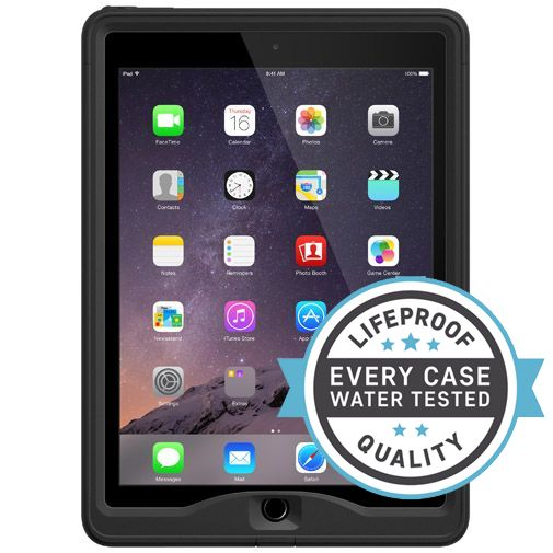 Lifeproof Nuud Case Black Apple iPad Air 2