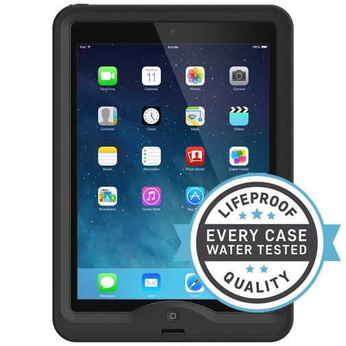 Lifeproof Nuud Case Black Apple iPad Air