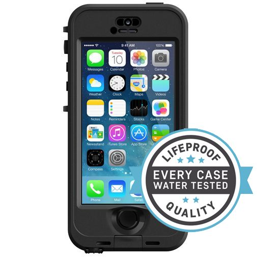 Lifeproof Nuud Case Black Apple iPhone 5/5S/SE