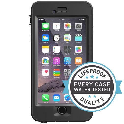 Productafbeelding van de Lifeproof Nuud Case Black Apple iPhone 6 Plus/6S Plus