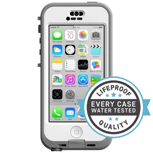 Lifeproof Nuud Case White Clear Apple iPhone 5C