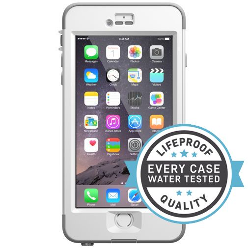 Lifeproof Nuud Case White Clear Apple iPhone 6 Plus/6S Plus