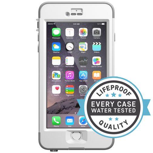 Productafbeelding van de Lifeproof Nuud Case White Clear Apple iPhone 6 Plus/6S Plus