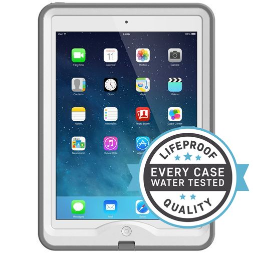 Productafbeelding van de Lifeproof Nuud Case White Grey Apple iPad Air