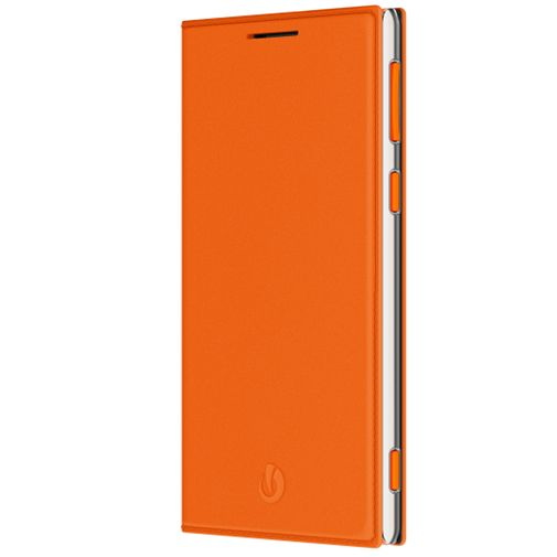 Lumigon Leather Flip Wallet Orange T3