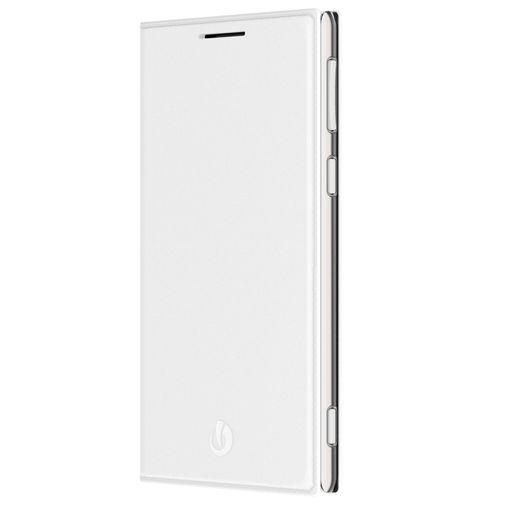 Lumigon Leather Flip Wallet White T3