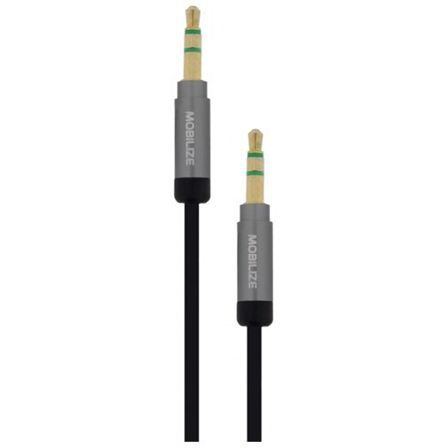 Mobilize 3,5mm naar 3,5mm Audio Kabel Zwart
