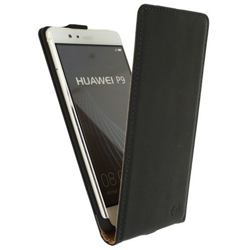 Mobilize Classic Flip Case Black Huawei P9