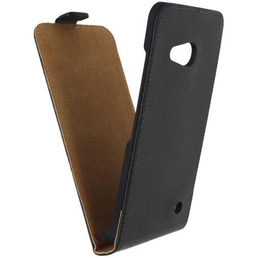 Mobilize Classic Flip Case Black Microsoft Lumia 550