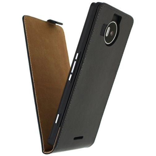 Mobilize Classic Flip Case Black Microsoft Lumia 950 XL