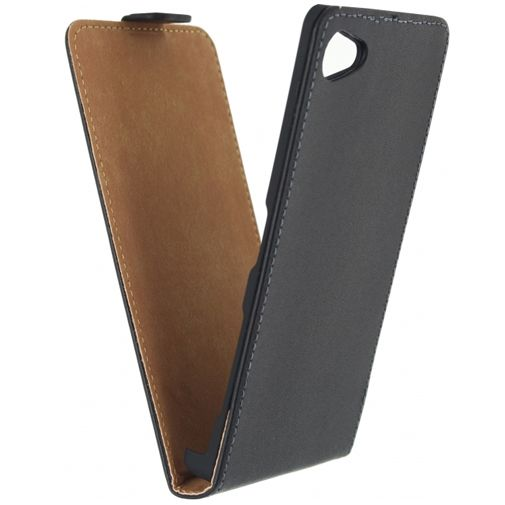 Mobilize Classic Flip Case Black Sony Xperia Z5 Compact