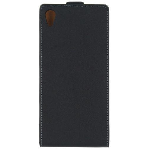Mobilize Classic Flip Case Black Sony Xperia Z5