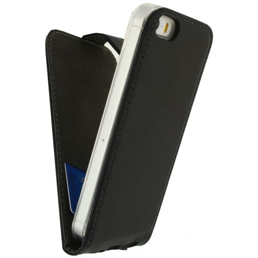 Mobilize Classic Gelly Flip Case Black Apple iPhone 5/5S/SE Black