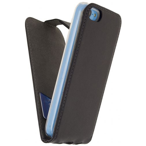Mobilize Classic Gelly Flip Case Black Apple iPhone 5C