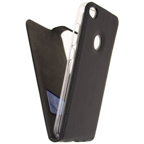 Mobilize Classic Gelly Flip Case Black Huawei P8 Lite 2017