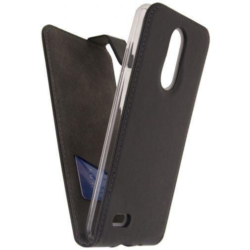 Mobilize Classic Gelly Flip Case Black LG K8 (2017)