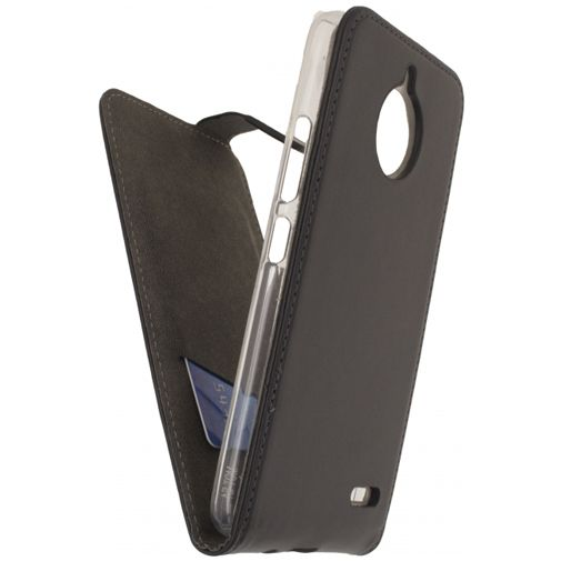 Mobilize Classic Gelly Flip Case Black Motorola Moto E4