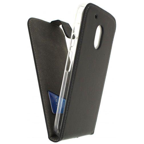 Mobilize Classic Gelly Flip Case Black Motorola Moto G4 Play