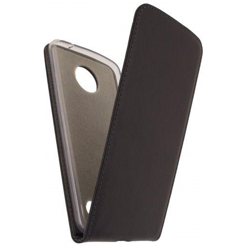 Productafbeelding van de Mobilize Classic Gelly Flip Case Black Motorola Moto Z2 Force