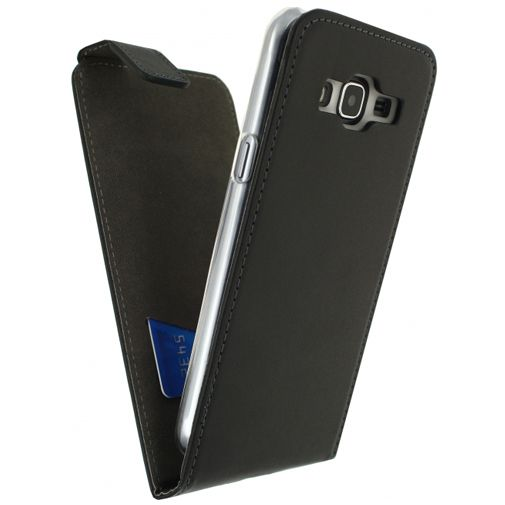 Mobilize Classic Gelly Flip Case Black Samsung Galaxy J3 2016