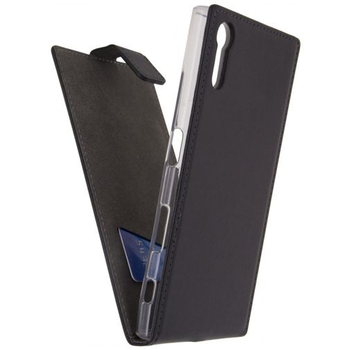 Mobilize Classic Gelly Flip Case Black Sony Xperia XZs